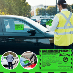 Warning & No Parking – Multi Reason Stickers