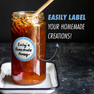 Dissolvable Canning Labels for Mason Jars 02 (Iceberg)