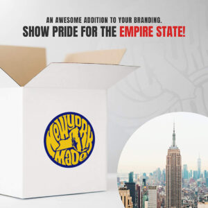 """""""Made in New York"""" State Pride Stickers (3 Designs)"""