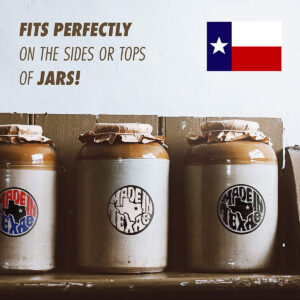 """""""Made in Texas"""" State Pride Stickers (3 Designs)"""